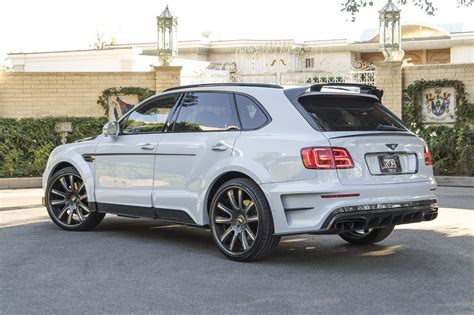 custom bentley bentayga mansory does its thing on the bentley bentayga