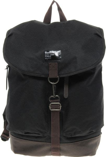 bench rucksack bench backpack in black for men lyst