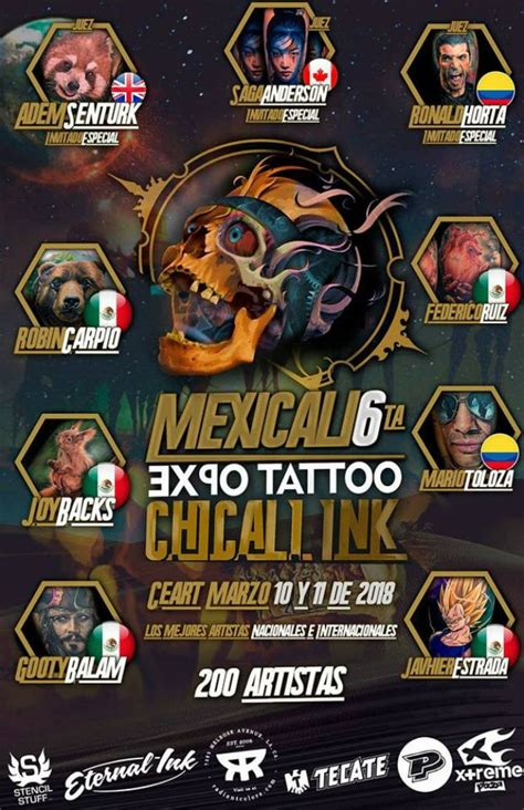 tattoo expo houston 2018 mexicali tattoo expo marzo 2018