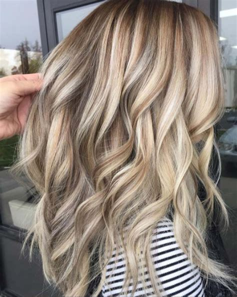 hi and low lights on layered hair blonde hairstyles with lowlights hair colors pinterest