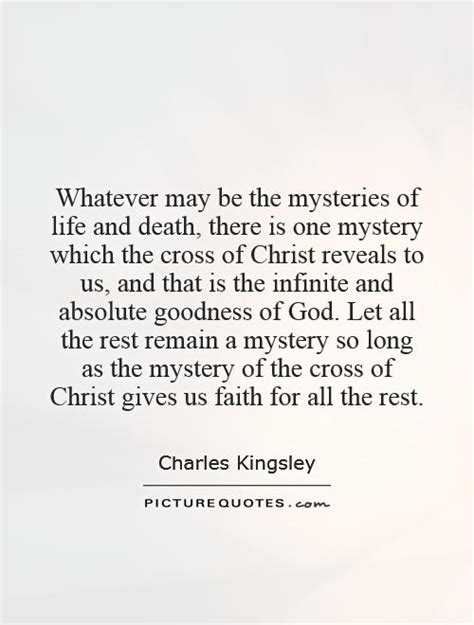 mysteries  life  death    picture quotes