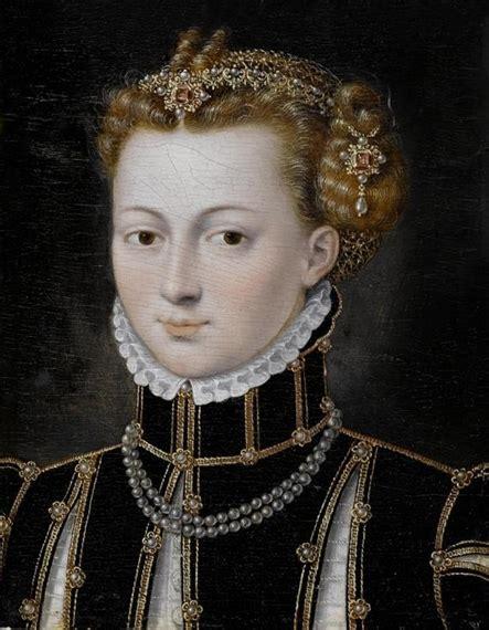 Marguerite Coffee Bun jean clouet portrait of a noble l on panel