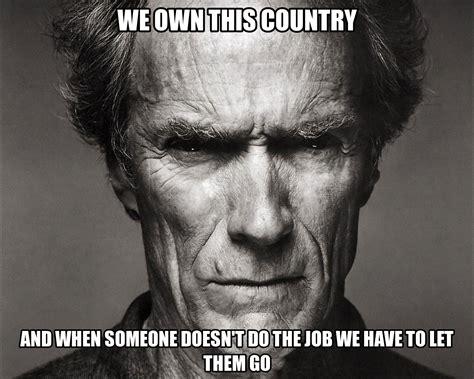 Eastwood Meme - clint eastwood cowboy meme www imgkid com the image