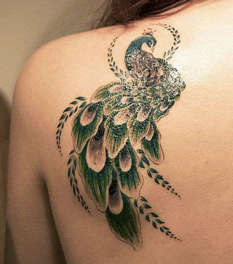 small peacock tattoos top 25 best small peacock ideas on