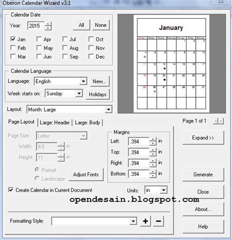 layout kalender coreldraw mendesain kalender menggunakan coreldraw open desain