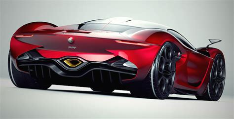alfa romeo furia concept envisions an italian supercar