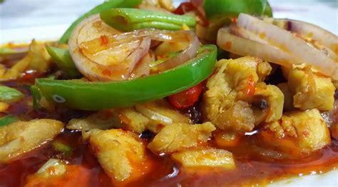 resepi ayam masak paprik ala thai  sedap azhanco