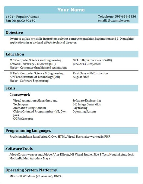 It Professional Resume Template by 36 Student Resume Templates Pdf Doc Free Premium