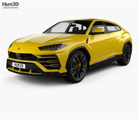 Lamborghini 3d Model Free by Lamborghini Urus 2019 3d Model Hum3d