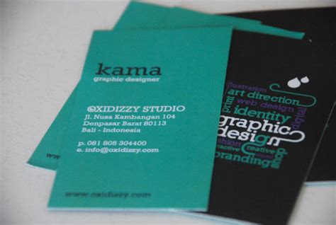 Cool Web Design Business Cards