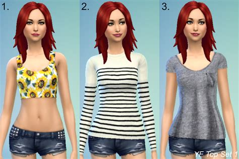 sims 4 custom content dresses clothing outfits for females sims 4 custom content