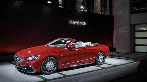 mercedes maybach s650 cabriolet photos features