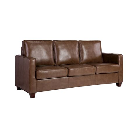 what is bonded leather sofa square arm bonded leather sofa threshold ebay