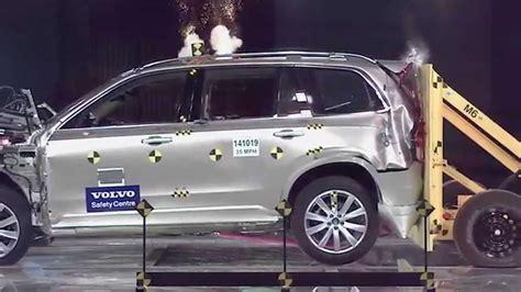 Rear End Crash Tests by Volvo Xc90 Rear End Crash Test