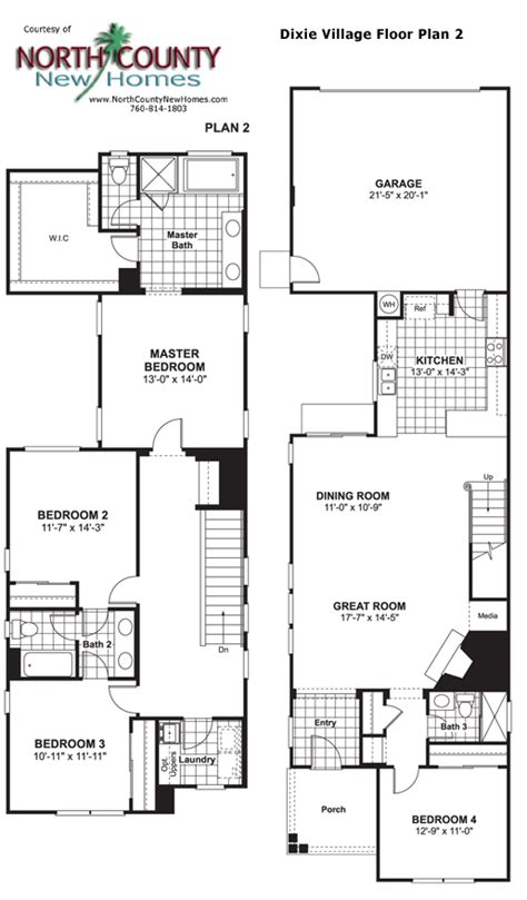 village homes floor plans dixie village floor plan 2 new homes in oceanside