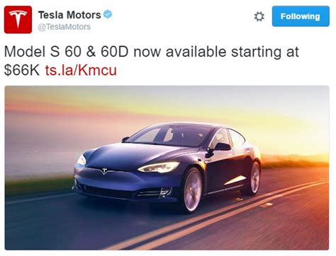 Tesla Model S 60 Kwh Review Tesla Relaunches 60 Kwh Model S Now With D Option 60d