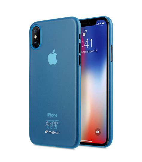 melkco air pp case  apple iphone  transparent blue