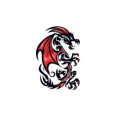 grand tatouage d 233 calcomanie motif dragon tribal www