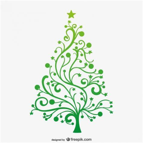 193 rbol de navidad verde minimalista descargar vectores gratis