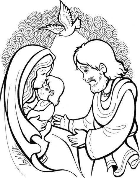 Imagenes En Blanco Y Negro De La Sagrada Familia | tia paula desenhos e atividades sobre o nascimento de jesus
