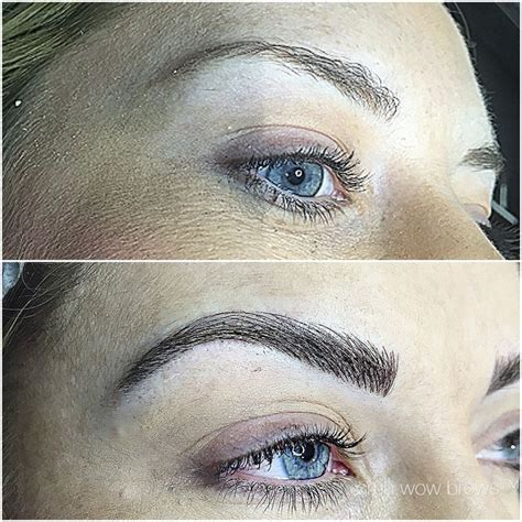 natural eyebrow tattoo eyebrow tattooing hair stroke feather touch