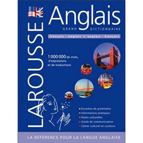 libro larousse grand dictionnaire grand dictionnaire larousse fran 231 ais anglais et anglais