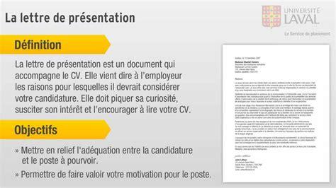 Lettre De Présentation Personnelle Mcgill Comment Concevoir Une Lettre De Pr 233 Sentation
