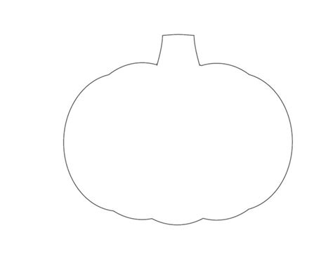 printable paper pumpkin pumpkin outline template www pixshark com images