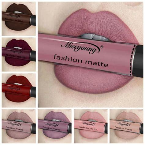 Lipstik Lipgloss Matte by Best Missyoung Matte Liquid Lipstick Lip Gloss Makeup