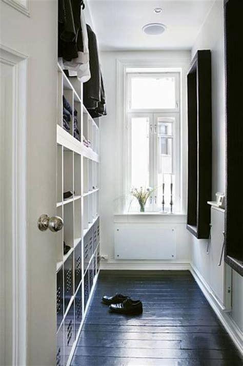 kleiderschrank 3m lang smalle inloopkast uit norwegen inrichting huis