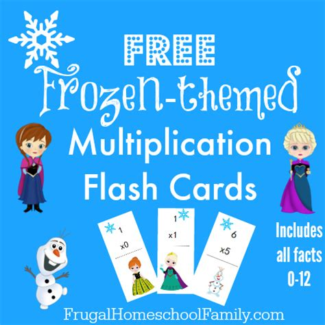 printable frozen table cards how to make multiplication tables fun imaginelearning