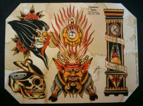 downtown tattoo las vegas 375 best tattoos flash images on