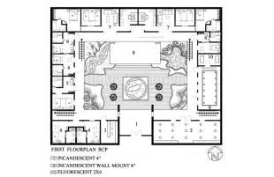 Central Courtyard House Plans by Id3753audreckabreaux March 2010