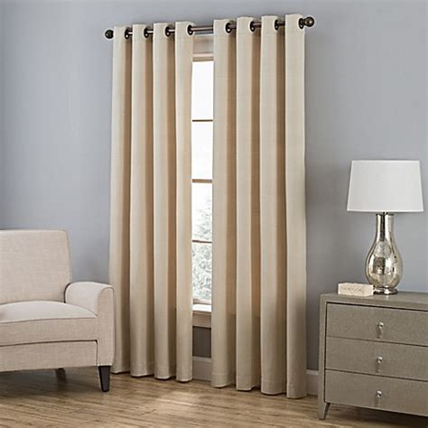 bed bath and beyond everett buy everett 63 inch grommet window curtain panel in