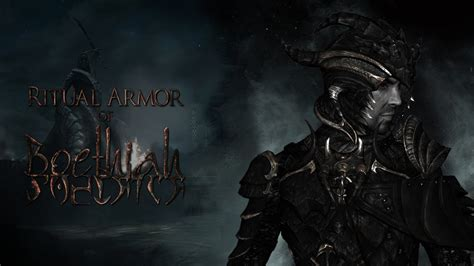 ritual armor of boethiah at skyrim nexus mods and community skyrim mod of the day episode 55 realistic room rental