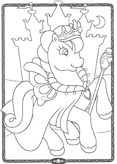 hello pony coloring pages my little pony king coloring pages hellokids com