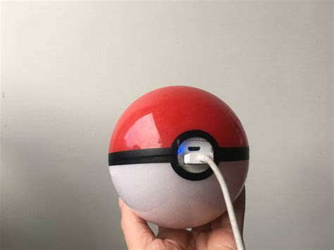 Powerbank Pokeball Pokeball Power Bank Is The Appropriate Go Accessory
