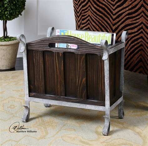 living room magazine holder five stylish magazine racks to help you declutter your living room