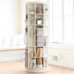 rotating bookshelves revolving bookcase pbteen