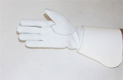 White Glove Pattern | new royal marines pattern tenor bass drummers gauntlet