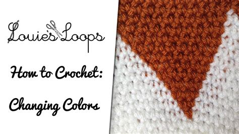 crochet color change how to change yarn colors while crocheting in the
