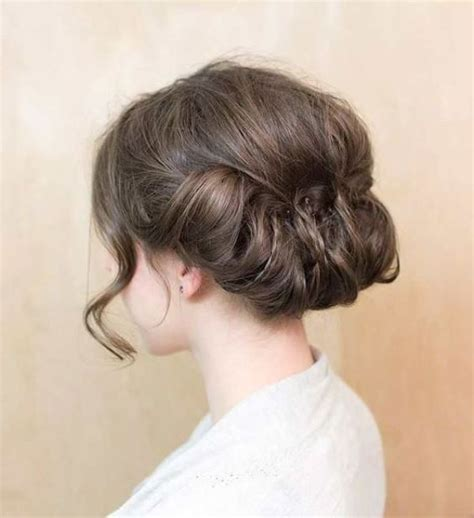 romantic updo for inverted triangle picture of romantic medium wedding hairstyles to get