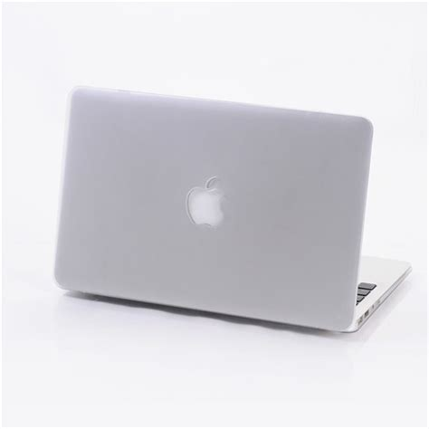 Macbook Air 11 Matte White No Logo cut logo frosted surface matte cover laptop