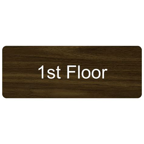 floor number engraved sign egre 250 whtonwlnt floor