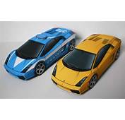 Simple Lamborghini Gallardo Paper Car Free Vehicle