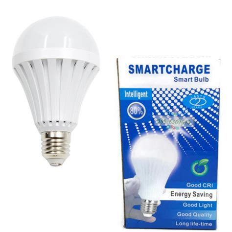 led rechargeable emergency light smart charge intelligent emergency light 12w