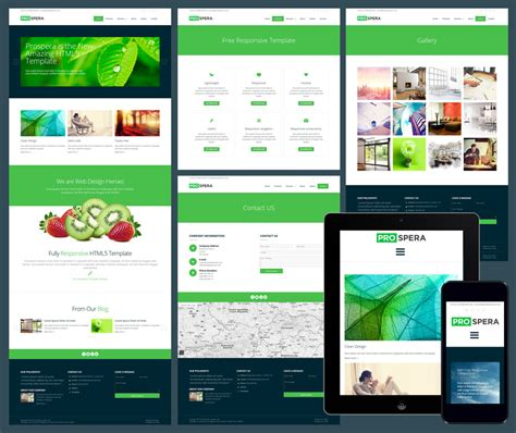 Responsive Templates For Website by 15 Free Amazing Responsive Business Website Templates