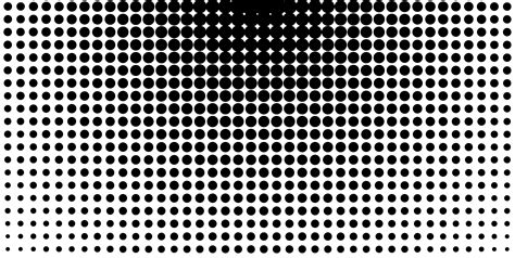 white pattern dots circular black and white halftone design lithography