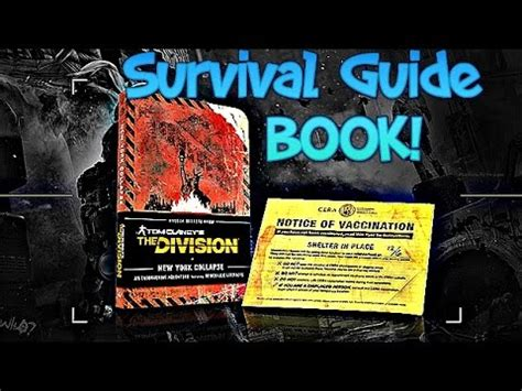 a freelancerã s guide to entities books tom clancy s the division survival guide book preorder