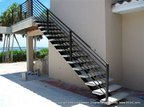 Aluminum Railings For Stairs Wrought Iron Stair Railing